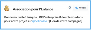 exemple message twitter